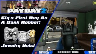 "Payday 2 The Heist | Season 1 | Ep. 1 ""Sly's First Day As A Professional Bank Robber"""