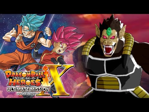 WE HAVE TO FIGHT GREAT APE TIME BREAKER BARDOCK!?! | Dragon Ball Heroes Ultimate Mission X Gameplay!