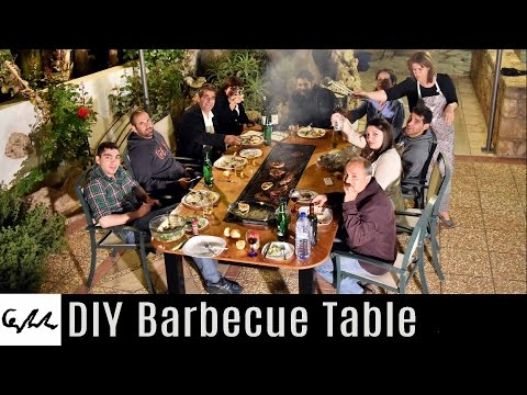 DIY Barbecue Table