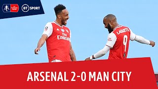 Arsenal vs Manchester City (2-0) | Emirates FA Cup highlights