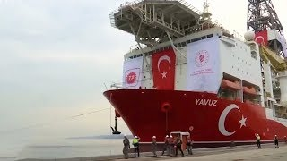 Turkey sending third ship within a month for drilling