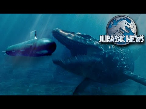 Jurassic News - Mosasaur Battles Submarine + Ian Malcom RETURNS!!! || Jurassic World 2 News Update