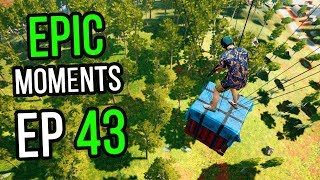 PUBG: Epic & Lucky Moments Ep. 43