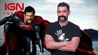Justice League: Scheduling, Mustache Causing Headaches for Reshoots - IGN News