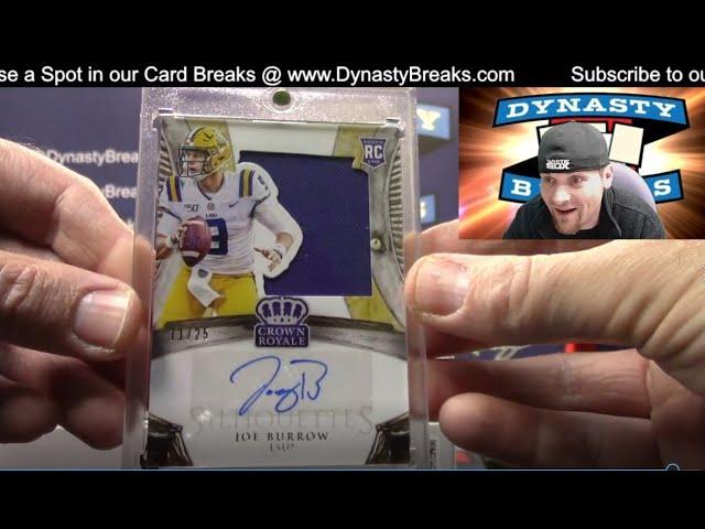 2020 Chronicles Draft Football Card 8 Box Half Case Break #1   Sports Cards