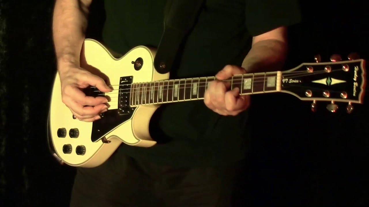 Harley Benton Sc 500 Wh Seymour Duncan Pickups Youtube