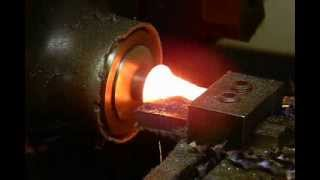 Lathe Tool Crash Test 8 of 12 Cobra Ludlow Steel HSS, not CNC