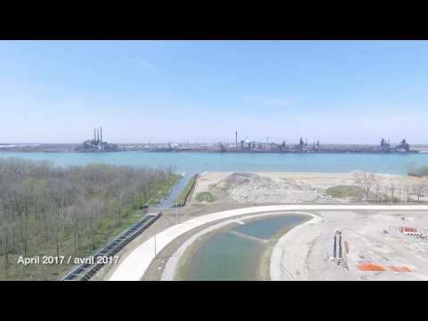 WDBA Flyover of Canadian Port of Entry