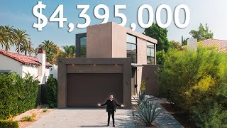 Touring a $4,395,000 Tri Level LOS ANGELES Modern Home