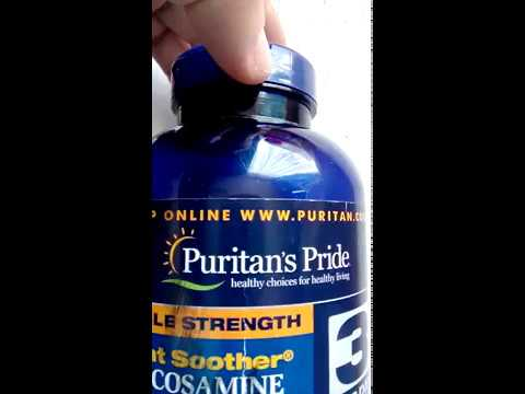 Puritain's Pride Double Strength Glucosamine Chondroitin MSM