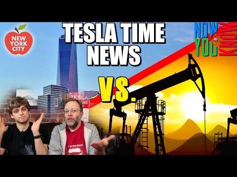 Tesla Time News - Big Apple Sues Big Oil, and more!