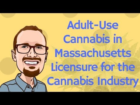 Adult-Use Cannabis in Massachusetts - Licensure for the Cannabis Industry