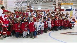 Донецкий хоккейный клуб Донбасс начал в Дружковке новый сезон