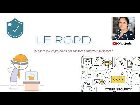 RGPD : qu'est-ce que la protection des données à caractère personnel?