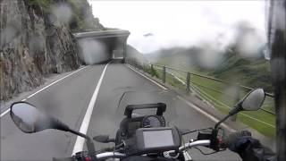 The beauty of Swiss Alps on F650gs