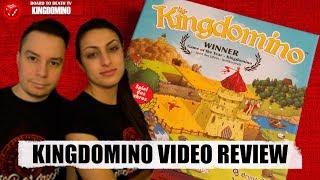 Kingdomino Board Game Video Review