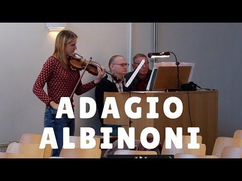 Adagio  Albinoni violin and organ
