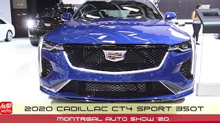 2020 Cadillac CT4 Sport 350T - Exterior And Interior - Montreal Auto Show 2020