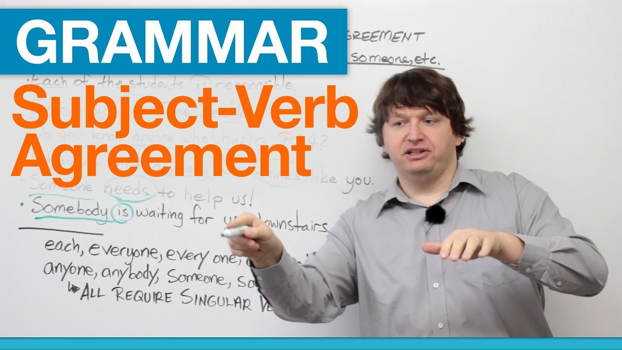 English Grammar Subject Verb Agreement With Each Every Any Some