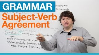 English Grammar: Subject-Verb Agreement with EACH, EVERY, ANY, SOME thumbnail