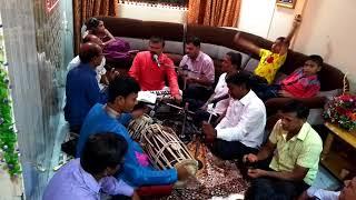 Khandobachi karbharin zali bhanu dhangarin by anil vishe and bhajni mandal