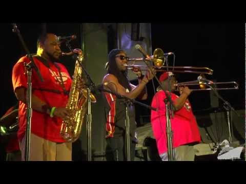 The Soul Rebels - Sweet Dreams are Made of This - Jam Cruise 11