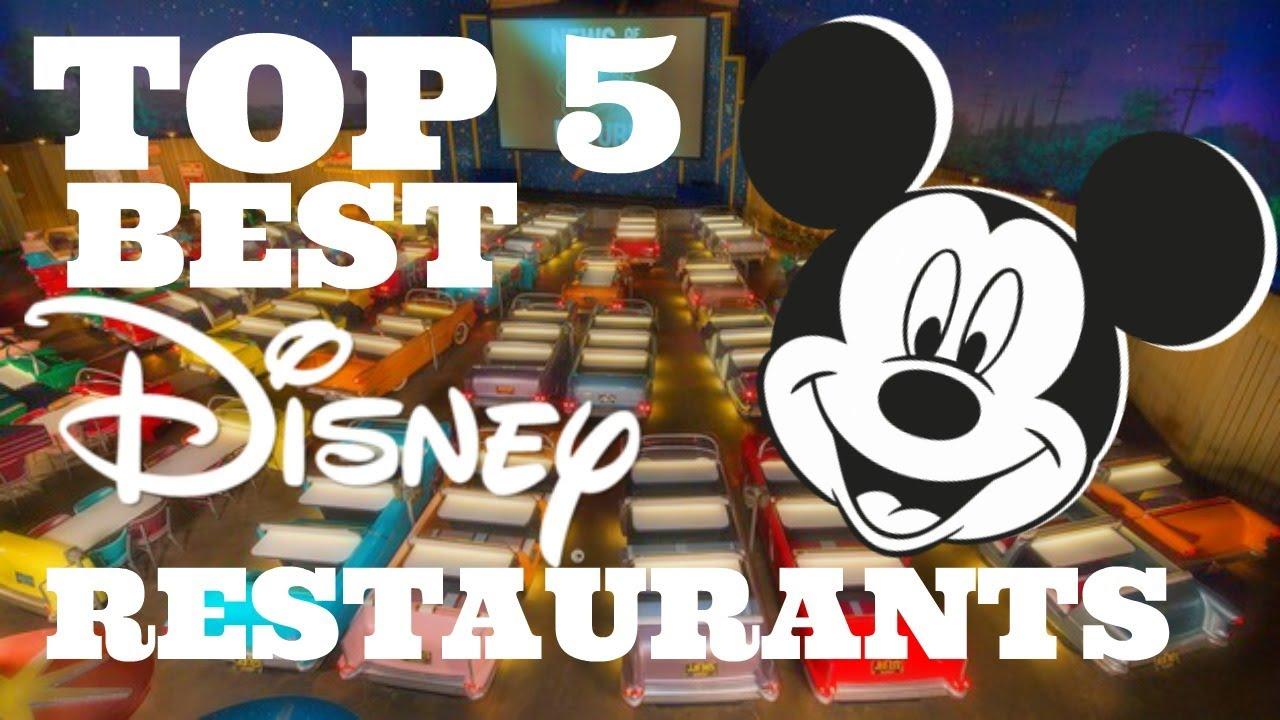 The Top 5 Best Disney World Restaurants For Dinning Plan 2017