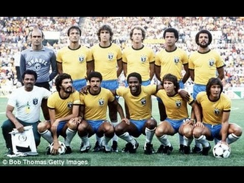 Football s Greatest International Teams .. Brazil 1982 - YouTube aa6b16707