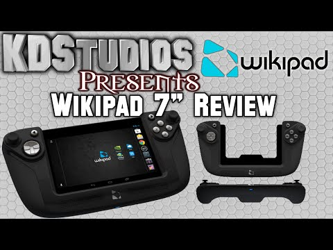 """Wikipad 7"""" - Unboxing and Review - Gaming Tablet with Controller"""