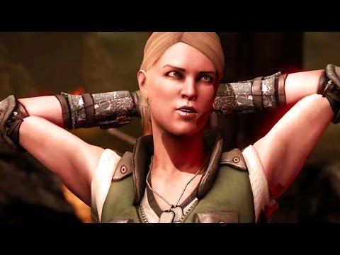 Mortal Kombat X  Sonya All Interaction Dialogues