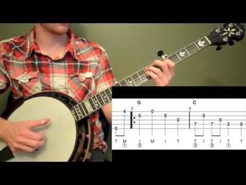 The Girl I Left Behind Intermediate Banjo Lesson