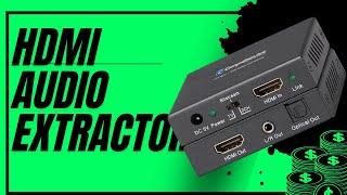 HDMI Audio splitter