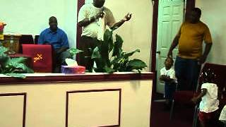 APOSTLE GREG WRIGHT AT SANCTUARY OF GOD RIVIERA BEACH FLA APRIL 13 2012