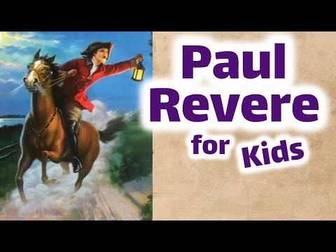 Paul Revere | First and Second Grade Social Studies Lesson