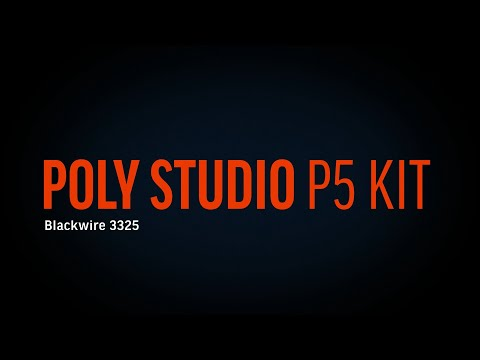 Poly Studio P5 Kit with Blackwire 3225 - Español