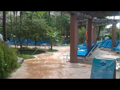 Outrigger Hotel Guam swimming pool and beach
