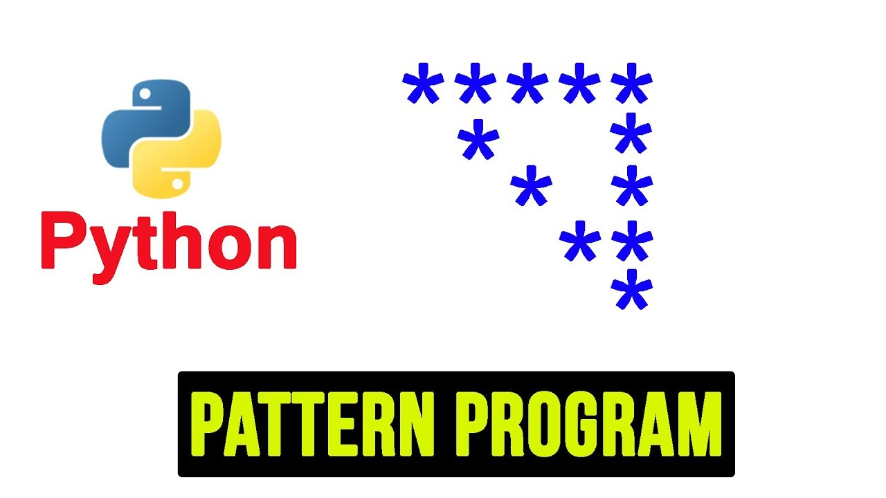 Python Pattern Programs - Printing Stars in Hollow Right Triangle Shape