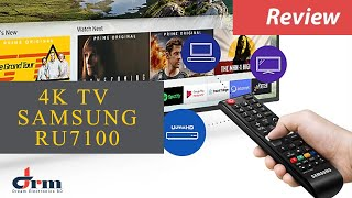"Samsung Ultra HD 4K TV RU7100 55"" | UHD TV Reviews"