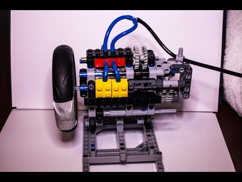 5000 RPM LEGO Pneumatic Engine