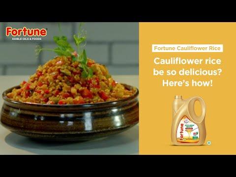 Healthy Heart Recipes | Fortune Cauliflower rice | Chef Vicky Ratnani