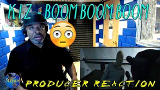 K I Z    Boom Boom Boom Official Video - Producer Reaction