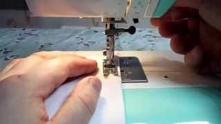 Как научиться шить на швейной машинке  JANOME 2055 қалай тігу
