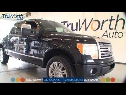2010 Ford F150 Platinum - Clean CARAFX - Touch Screen Navigation - TruWorth Auto
