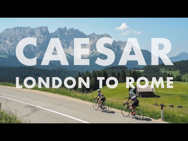 Caesar Epic Bike Tour - London to Rome