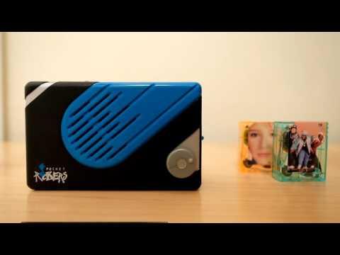 Vintage Pocket Rockers Blue Tape Player - for sale on eBay
