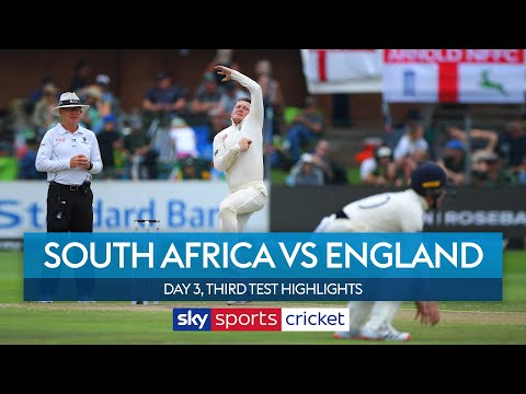 Bess takes five before De Kock counters! | South Africa vs England | Day 3, 3rd Test Highlights