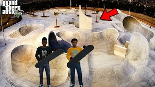 GTA 5 REAL LIFE KIDS MOD #11 TRIP TO A NEW SKATE PARK!