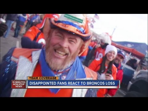 Broncos playoff debacle shocks fans