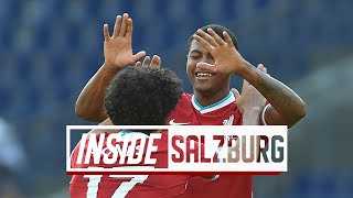 Inside Salzburg: RB Salzburg 2-2 Liverpool | Brewster strikes twice