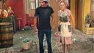 El Chavo del Ocho - Capítulo 116 Parte 1 - Barriendo el Patio - 1976